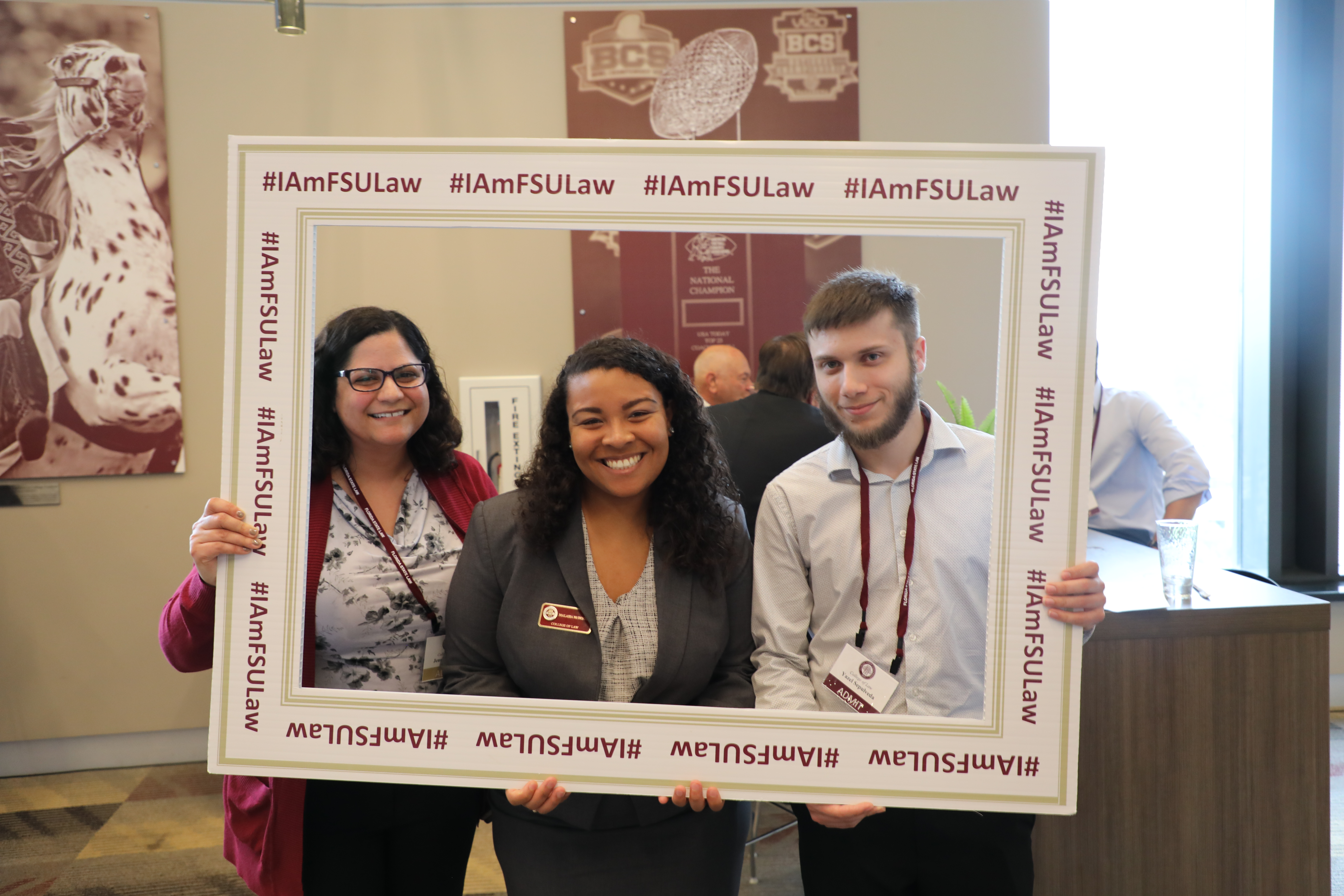 FSU Law students at Preview Day