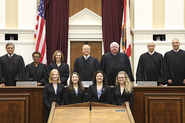 Moot Court Final Four Competition